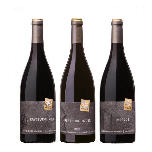 3er Rotweinpaket VINUM »Entdeckung des Jahres 2020«