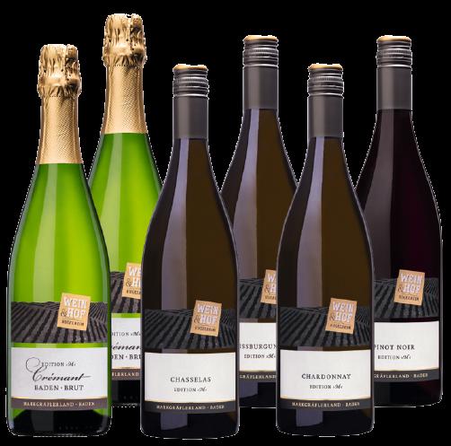 »Edition M« - 6er Weinpaket