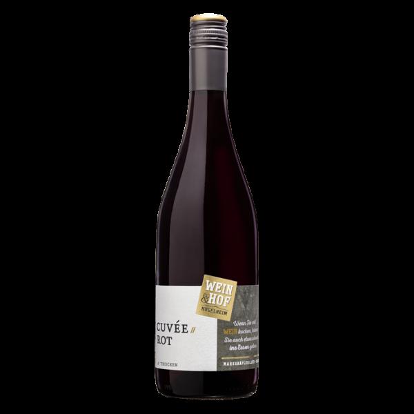 2017 Cuvée Rot QbA trocken -Hofwein-