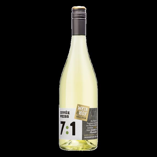2020 7:1 Weißwein Cuvée QbA trocken -Hofwein-